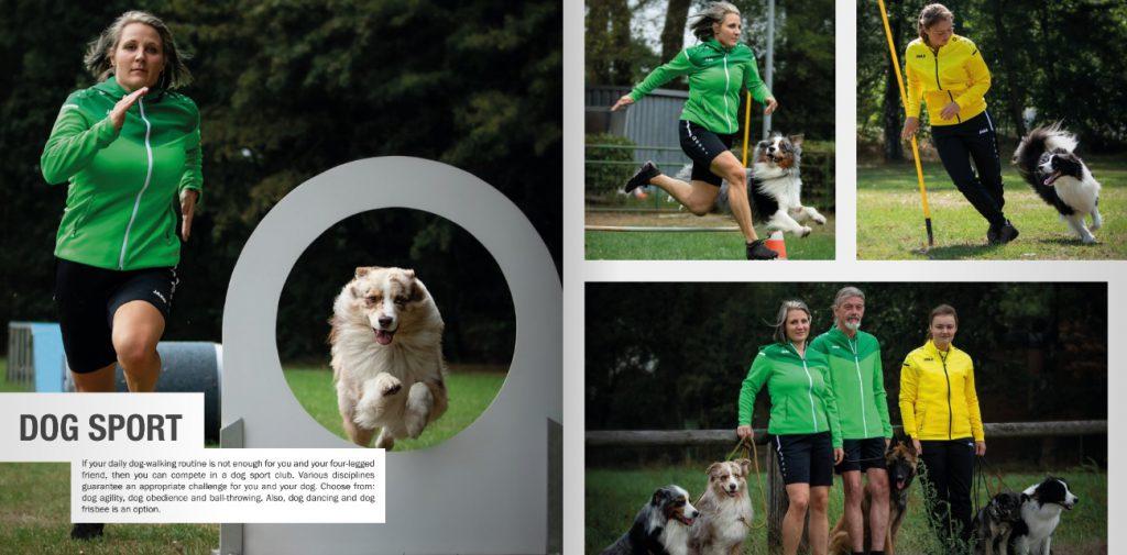 odzież do sportów z psami